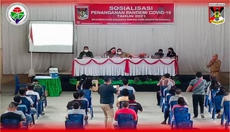 COVID-19 BELUM BERAKHIR, MANGALA MINTA MASYARAKAT DISIPLIN PROKES